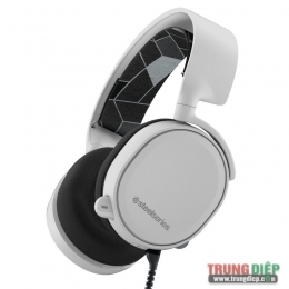Tai nghe Gaming SteelSeries Arctis 3 White 7.1